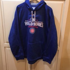 Majestic therma base cubs 2016 world series hoodie